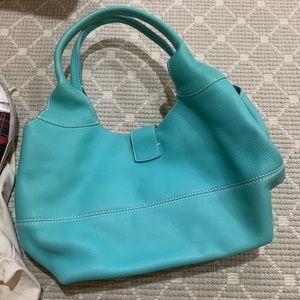 2000s Loro Piana Leather Bag